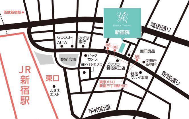 新宿院マップ